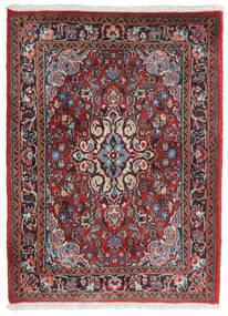 Hamadan Shahrbaf Covor 71X95 Orientale Lucrat Manual Roșu-Închis/Gri Deschis (Lână, Persia/Iran)