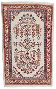 Sarouk Covor 84X140 Orientale Lucrat Manual Roșu-Închis/Gri Deschis (Lână, Persia/Iran)
