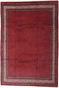Sarouk Mir Covor 212X310 Orientale Lucrat Manual Roșu-Închis/Roşu (Lână, Persia/Iran)