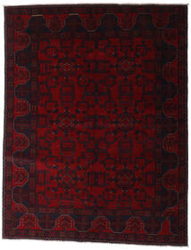 Afghan Khal Mohammadi Covor 153X198 Orientale Lucrat Manual Roșu-Închis (Lână, Afganistan)