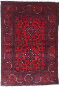 Afghan Khal Mohammadi Covor 101X148 Orientale Lucrat Manual Roșu-Închis/Mov Închis (Lână, Afganistan)
