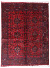 Afghan Khal Mohammadi Covor 148X192 Orientale Lucrat Manual Roșu-Închis/Maro Închis (Lână, Afganistan)