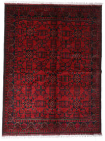Afghan Khal Mohammadi Covor 172X225 Orientale Lucrat Manual Roșu-Închis/Maro Închis (Lână, Afganistan)