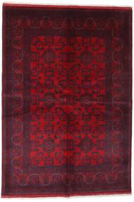 Afghan Khal Mohammadi Covor 162X234 Orientale Lucrat Manual Roșu-Închis/Roşu (Lână, Afganistan)