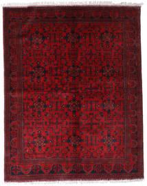 Afghan Khal Mohammadi Covor 174X220 Orientale Lucrat Manual Roșu-Închis/Roşu (Lână, Afganistan)