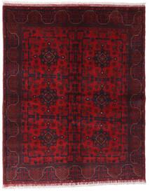 Afghan Khal Mohammadi Covor 148X187 Orientale Lucrat Manual Roșu-Închis/Roşu (Lână, Afganistan)