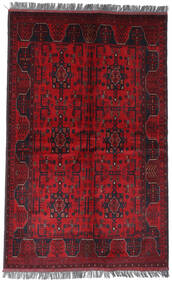 Afghan Khal Mohammadi Covor 122X194 Orientale Lucrat Manual Roșu-Închis/Roşu (Lână, Afganistan)
