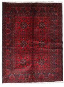 Afghan Khal Mohammadi Covor 170X225 Orientale Lucrat Manual Roșu-Închis/Negru (Lână, Afganistan)