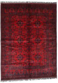 Afghan Khal Mohammadi Covor 169X228 Orientale Lucrat Manual Roșu-Închis/Roşu (Lână, Afganistan)