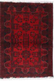 Afghan Khal Mohammadi Covor 102X140 Orientale Lucrat Manual Roșu-Închis/Maro Închis/Roşu (Lână, Afganistan)