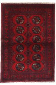 Afghan Khal Mohammadi Covor 99X144 Orientale Lucrat Manual Roșu-Închis/Roşu (Lână, Afganistan)