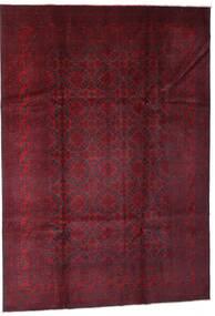 Afghan Khal Mohammadi Covor 201X292 Orientale Lucrat Manual Roșu-Închis (Lână, Afganistan)