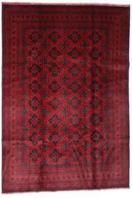 Afghan Khal Mohammadi Covor 198X294 Orientale Lucrat Manual Roșu-Închis (Lână, Afganistan)