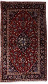 Kashan Covor 97X158 Orientale Lucrat Manual Roșu-Închis (Lână, Persia/Iran)