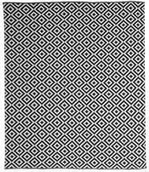 Torun - Negru/Neutral Covor 250X300 Modern Lucrate De Mână Gri Închis/Gri Deschis Mare (Bumbac, India)