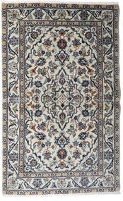 Kashan Covor 95X154 Orientale Lucrat Manual Gri Deschis/Gri Închis (Lână, Persia/Iran)