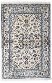 Kashan Covor 100X150 Orientale Lucrat Manual Gri Deschis/Gri Închis (Lână, Persia/Iran)