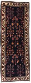 Gabbeh Kashkooli Covor 82X223 Modern Lucrat Manual Maro Închis/Roșu-Închis (Lână, Persia/Iran)
