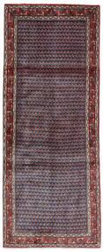Sarouk Mir Covor 79X195 Orientale Lucrat Manual Mov Închis/Roșu-Închis (Lână, Persia/Iran)