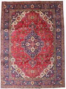 Tabriz Covor 246X335 Orientale Lucrat Manual Roșu-Închis/Mov Închis (Lână, Persia/Iran)