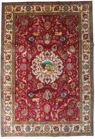 Tabriz Covor 246X355 Orientale Lucrat Manual Roșu-Închis/Maro Închis (Lână, Persia/Iran)
