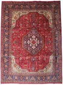 Tabriz Covor 258X354 Orientale Lucrat Manual Roșu-Închis/Maro Închis Mare (Lână, Persia/Iran)