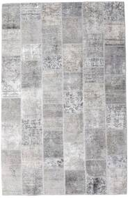 Patchwork - Persien/Iran Covor 196X301 Modern Lucrat Manual Gri Deschis/Bej-Crem (Lână, Persia/Iran)