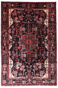 Nahavand Covor 163X247 Orientale Lucrat Manual Roșu-Închis (Lână, Persia/Iran)