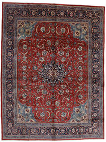 Mahal Covor 296X390 Orientale Lucrat Manual Roșu-Închis/Maro Închis Mare (Lână, Persia/Iran)