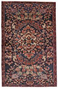 Bakthiari Covor 133X205 Orientale Lucrat Manual Gri Închis/Roșu-Închis (Lână, Persia/Iran)