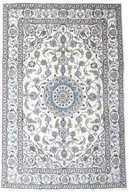Nain Covor 191X287 Orientale Lucrat Manual Bej-Crem/Gri Deschis (Lână, Persia/Iran)