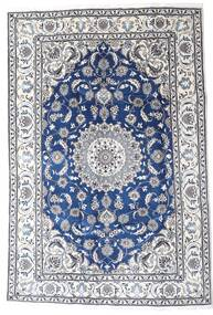 Nain Covor 195X290 Orientale Lucrat Manual Gri Deschis/Bej-Crem (Lână, Persia/Iran)