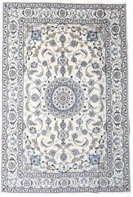 Nain Covor 189X283 Orientale Lucrat Manual Gri Deschis/Bej/Bej-Crem (Lână, Persia/Iran)