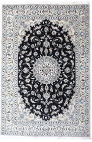 Nain Covor 200X297 Orientale Lucrat Manual Bej-Crem/Gri Deschis (Lână, Persia/Iran)