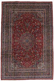 Mashhad Covor 210X310 Orientale Lucrat Manual Roșu-Închis/Negru (Lână, Persia/Iran)
