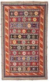 Chilim Vintage Covor 162X270 Orientale Lucrate De Mână Roșu-Închis/Maro Închis (Lână, Persia/Iran)
