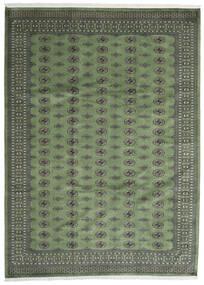 Pakistan Bukhara 2Ply Covor 250X344 Orientale Lucrat Manual Gri Închis/Verde Oliv Mare (Lână, Pakistan)