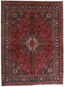Mashhad Covor 289X390 Orientale Lucrat Manual Roșu-Închis/Gri Închis Mare (Lână, Persia/Iran)
