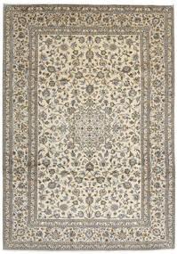Kashan Covor 248X350 Orientale Lucrat Manual Gri Deschis/Bej/Gri Închis (Lână, Persia/Iran)
