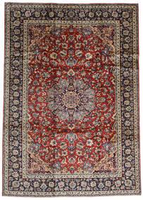 Najafabad Covor 243X338 Orientale Lucrat Manual Roșu-Închis/Maro Închis (Lână, Persia/Iran)