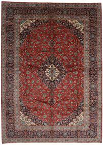 Kashan Covor 301X420 Orientale Lucrat Manual Roșu-Închis/Gri Închis Mare (Lână, Persia/Iran)