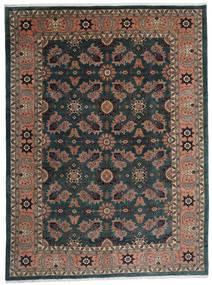 Ardabil Covor 295X393 Orientale Lucrat Manual Negru/Roșu-Închis Mare (Lână, Persia/Iran)