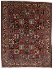Bakthiari Covor 298X390 Orientale Lucrat Manual Maro Închis/Roșu-Închis Mare (Lână, Persia/Iran)
