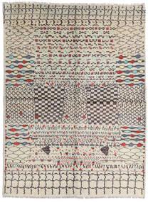 Moroccan Berber - Afghanistan Covor 178X240 Modern Lucrat Manual Gri Deschis/Maro (Lână, Afganistan)
