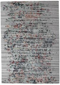 Damask Collection Covor 164X231 Modern Lucrat Manual Gri Deschis/Gri Închis ( India)