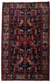 Hamadan Covor 131X213 Orientale Lucrat Manual Roșu-Închis (Lână, Persia/Iran)