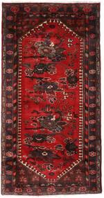 Hamadan Covor 102X193 Orientale Lucrat Manual Roșu-Închis/Maro Închis (Lână, Persia/Iran)