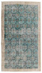 Vintage Heritage Covor 112X197 Modern Lucrat Manual Gri Deschis/Albastru Turcoaz (Lână, Persia/Iran)