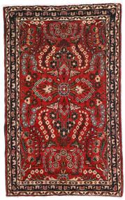 Lillian Covor 80X128 Orientale Lucrat Manual Maro Închis/Roșu-Închis (Lână, Persia/Iran)
