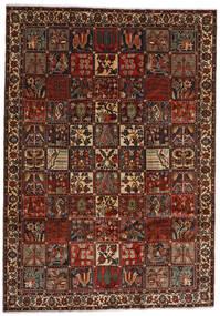 Bakthiari Covor 225X317 Orientale Lucrat Manual Maro Închis/Roșu-Închis (Lână, Persia/Iran)